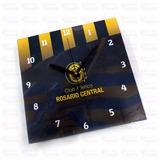 Reloj De Pared Oficial Rosario Central