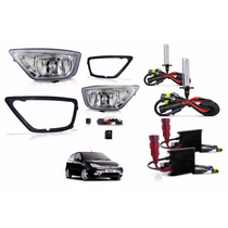 Kit Farol De Milha Ford Focus 2004 2005 2006 2007+ Kit Xenon