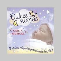 Dulces Sueños Cajita Musical Melodias Relajantes Pa Cd Nuevo