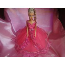 Vestidos Para Muñecas + 2 Pares De Zapatillas