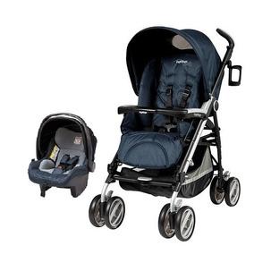 Carrinho Peg Perego Pliko P3 Compact Cielo + Bebe Conforto