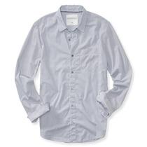 Liq Camisas Aéropostale Para Caballero Azul Rayitas Talla L