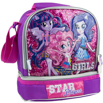 Mochila Escolar De Moda My Little Pony Rosa Mp50180d Urbania