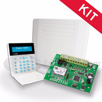 Kit Alarma Hogar Panel Alonso A2k8-rf + Placa Ip 400 (wifi)