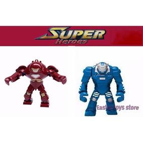 Homem De Ferro Hulkbuster + Mark38 Igor Boneco Montar 2 Pç