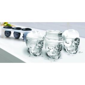 Tovolo Skull Ice Moldes De Gelo Em Caveira Whisky / Drinks