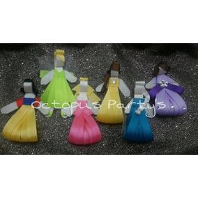 Moños Princesas De Disney Para Niñas Diademas Tiaras Lazos