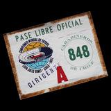 ¬¬ Z3 Entrada Fútbol Mundial 1962 Pase Libre Auto Estadio