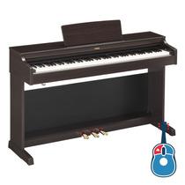 Piano Digital Yamaha Arius Ydp163 R + Banqueta Bc108 Dr