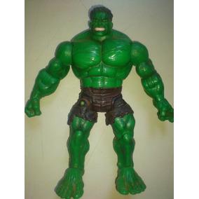 Boneco Articulado Hulk Excelente Qualidade Usado