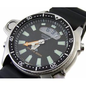 Relógio Citizen Aqualand Jp2000-08 Serie Prata Limitada