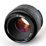 Lente Nikon Af Nikkor 50mm F/1.8d Distancia Focal Fija