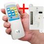 Controle Remoto Wireless P/ Ventilador De Teto - Completo