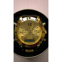 Relógio Importado Digital E Analógico,luz,cronômetro,barato
