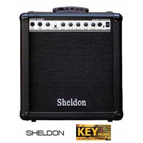 Amplificador Sheldon Bss500 P/ Baixo 50w Rms Novo!!!