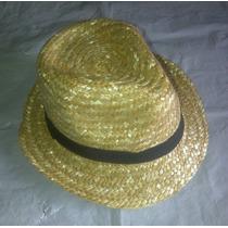 Sombreros Estilo Borsalinos De Paja Unisex Talla Unica