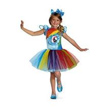 Disfraz Niño Disfraz De Hasbro Mi Lil Pony Rainbow Dash Tut