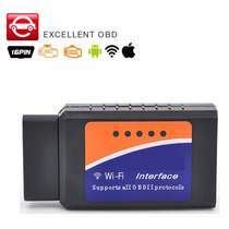 Scaner Automotivo Universal Obd2 Wifi Pc Diagnóstico
