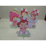 Kit 10 Display Moranguinho Baby Decoração De Mesa Festa