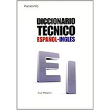 Diccionario Técnico Español Inglés Malgorn Paraninfo Cengage