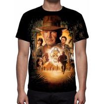 Camisa, Camiseta Filme Indiana Jones - Estampa Total