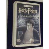 Libro 5 Harry Potter Y Orden Dl Fénix Jk Rowling Maltratado
