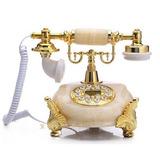 Telefono Retro Antiguo Imitación Mármol De Línea Nuevo