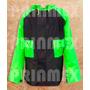 Impermeable Para Motociclista Neg-verde Envio Gratis