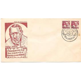 1964 - Envelope Combate Ao Mal De Hansen Padre Bento Carim