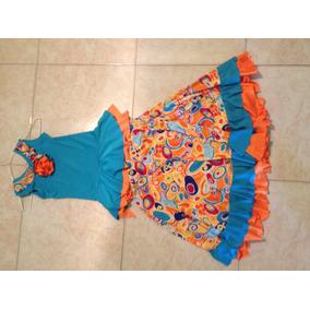 Vestido De Flamenco De Niña Talla 8