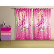 Cortina Varão Barbie E O Portal Secreto 2,90 X 2,20 Lepper