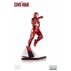 Iron Man Mark Xlvi Cap America Civil War 1/10 Iron Studios