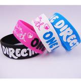 1 Pulsera De Silicona De One Direction Oficial + Regalo