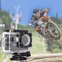 Câmera 720 Hd A Prova D Agua Filma Fotografa Moto Carro Bike