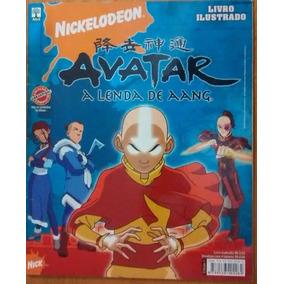 A1086 Álbum Figurinha Abril Avatar A Lenda De Aang 2008