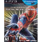Spider Man The Amazing Ps3 Nuevo Original Fisico Caja Sellad