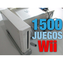 Nintendo Wii Con Disco Duro +2000 Juegos 2 Controles Promo