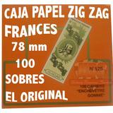 Papel Zig Zag Frances Naranja N.125 C/100 Blunt Hornet Ocb