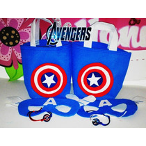 Bolsitos Para Cotillones Superhéroes Avengers