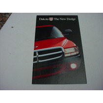 Folder Mopar Chrysler Dodge Dakota Lançamento 1997 97