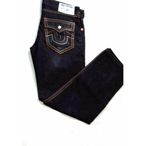Pantalon - Jeans Marca True Religion T- 36 Seccion Straight