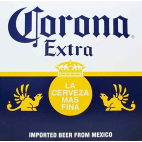 Carteles Antiguos Chapa Gruesa 60x40cm Ceveza Corona Dr-148