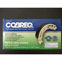Lona Patim Freio Sapata Honda Cg Titan150 Fan 125/150 Cobreq