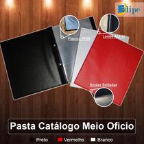 Edipe - Pasta Catalogo Meio Oficio Com 10 Plasticos 18x22,5