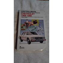 Libro Chevrolet 1968-1988 Manual De Reparación Y Afinación.