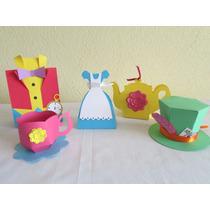 Kit Cajas Tematicas Alicia En El Pais De Las Maravillas