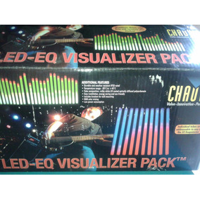 5pk Luz Ecualizador Chauvet Led Audio Ritmica Dj Color Tube
