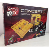 Set Mecánico Con Herramientas 210 Piezas Armamec Concept 7