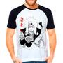 Camiseta Raglan Anime Naruto Shippuden Jiraya Sensei Ninja