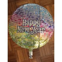 Globo Elio Happy New Year Año Nuevo Cotillón Decoración Nuev